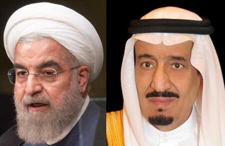 حسن روحانی، رئیس جمهوری ایران و ملک سلمان، پادشاه عربستان سعودی