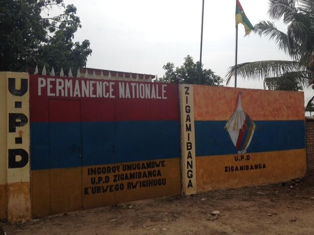 La permanence nationale de l'Union pour la paix et la démocratie à Bujumbura.