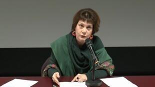法国国家科研中心中国电影研究专家Anne Kerlan,日期不详。