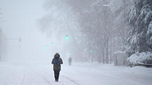 The Madrid region was among the worst hit areas with levels of snowfall not seen since 1971