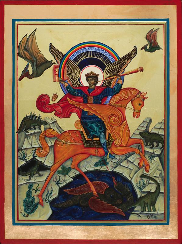 Святой Георгий и динозавры