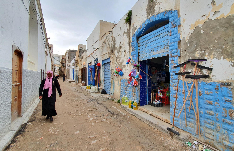 Une rue de Tripoli, en Libye, le 13 janvier 2020.
