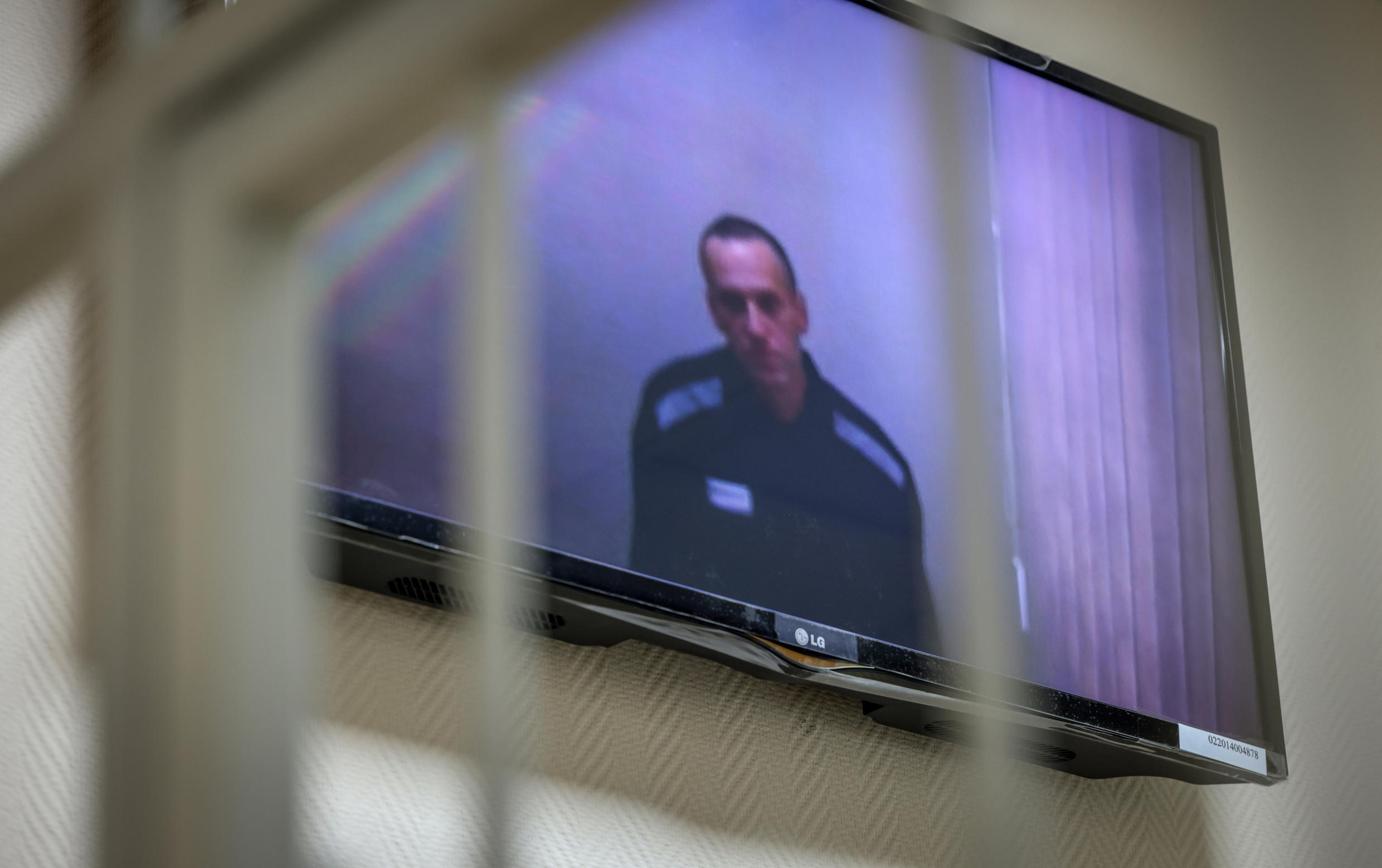Navalny was jailed in February on old fraud charges he says are politically motivated