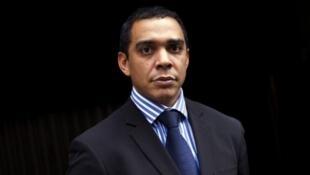 Eric Massi, porte-parole et coordonnateur international de la Seleka, le 30 décembre 2012.