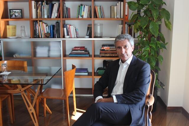 O embaixador e membro do Instituto Camões, Luís Faro Ramos