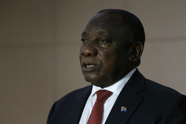 Shugaban Afrika ta Kudu Cyril Ramaphosa, kasar da annobar corona ta fi kamari a Afrika.