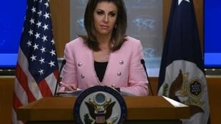 مورگان اورتاگوس سخنگوی وزارت امور خارجۀ آمریکا.