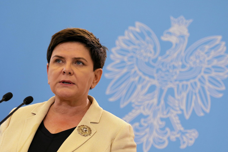 Thủ tướng Ba Lan Beata Szydlo, ngày 25/08/2017, đã rất bất bình với phát biểu của tổng thống Pháp về vấn đề lao động biệt phái.