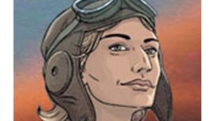 L'aviatrice anglaise des années 30, Amy Johnson.