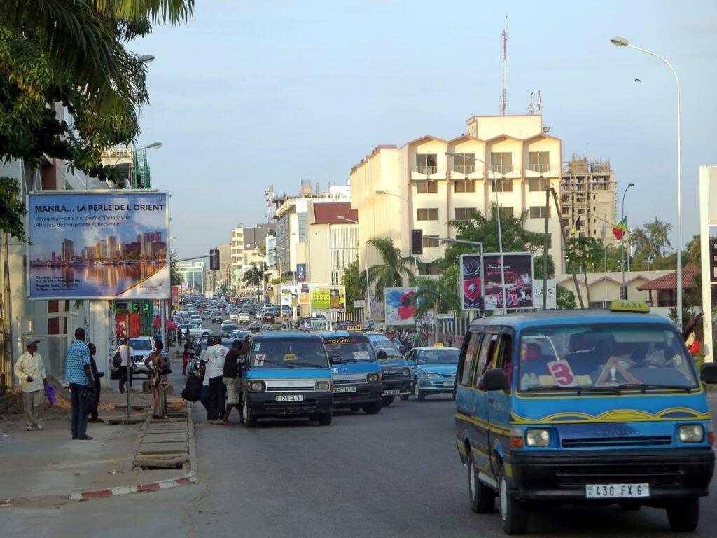 Pointe-Noire, capitale économique du Congo-Brazzaville.