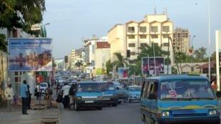 Vue du boulevard du général de Gaulle à Pointe-Noire au Congo (image d'illustration).