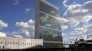 Siège des Nations unies à New York, septembre 2012.