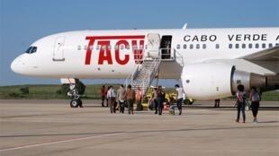 Avião da TACV.