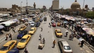Une vue du marché de Shorja, dans le centre de Bagdad, le 28 juin 2014.