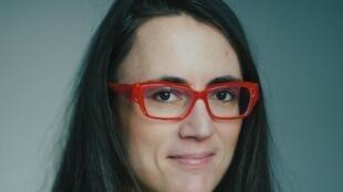 Aude Laurriaux l'une des auteures «Des intrus en politique».