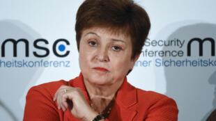 Kristalina Georgieva  - FMI