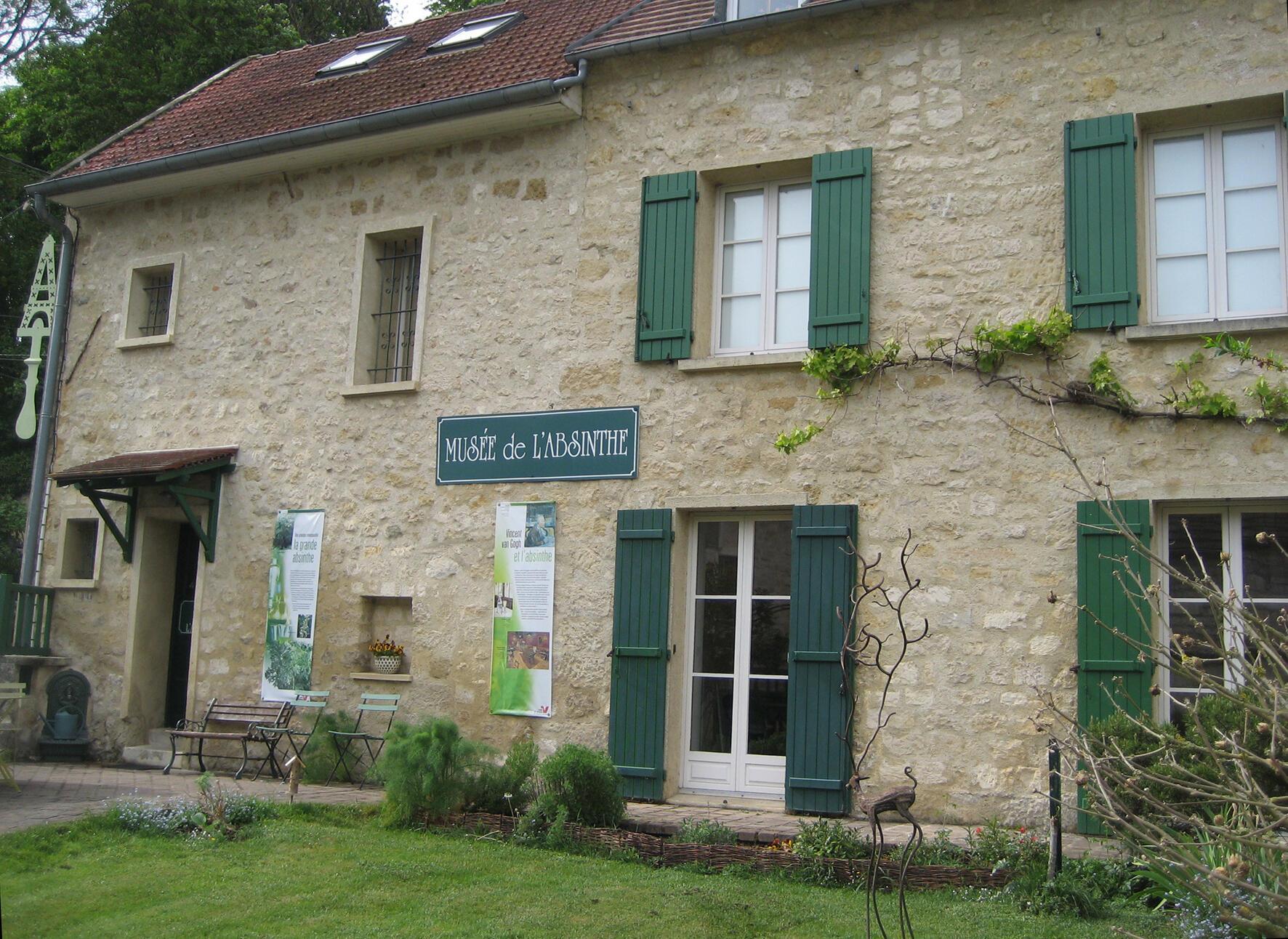 Museo del Ajenjo. Auvers-sur-Oise.
