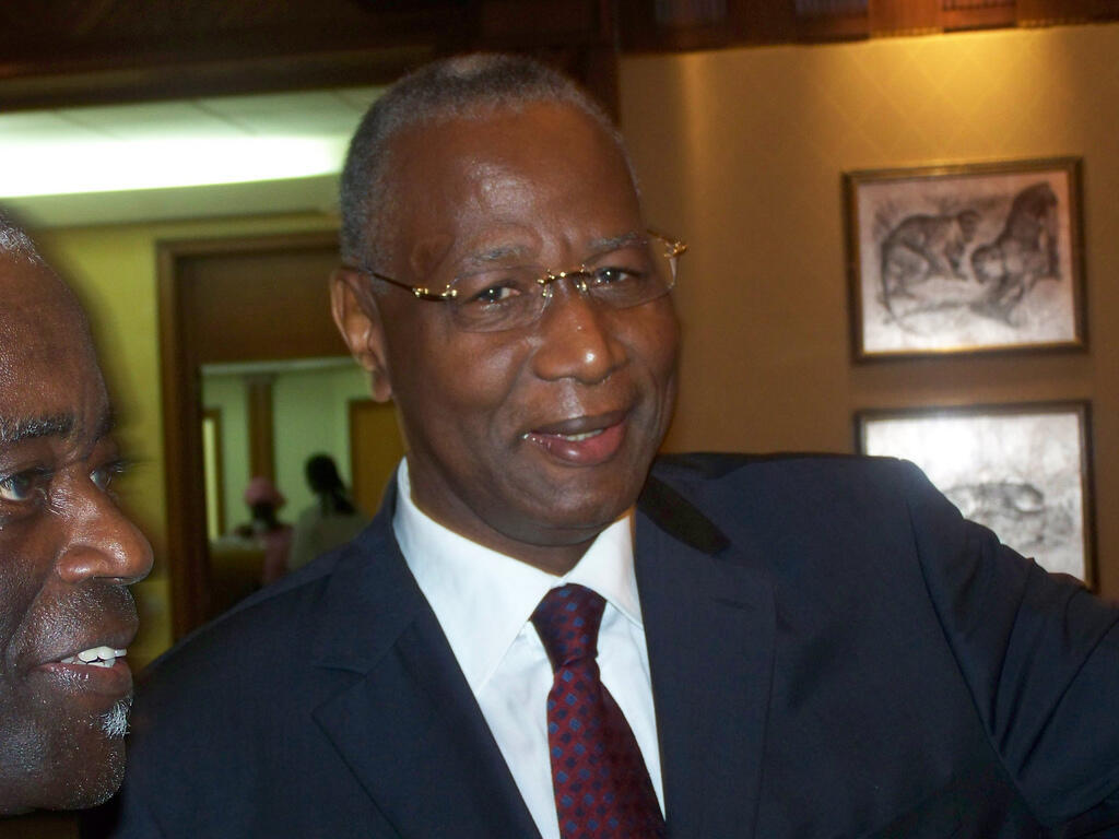 Abdoulayye Bathily en 2008.