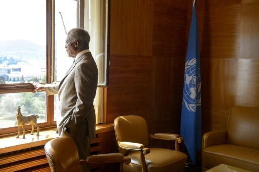Kofi Annan, ancien secrétaire général de l'ONU et prix Nobel de la paix 2001.
