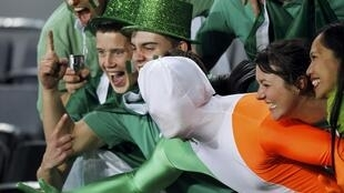 Болельщики команды Ирландии