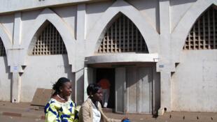 La façade du Soudan Ciné.