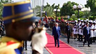 Arrivée de Benyamin Netanyahu à Ndjamena le 20 janvier.