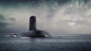 زیردریایی نظامی مدل Shortfin Barracuda Block A1 ساخت فرانسه