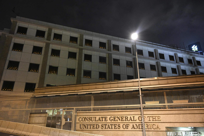 consulat américain hong kong tienanmen
