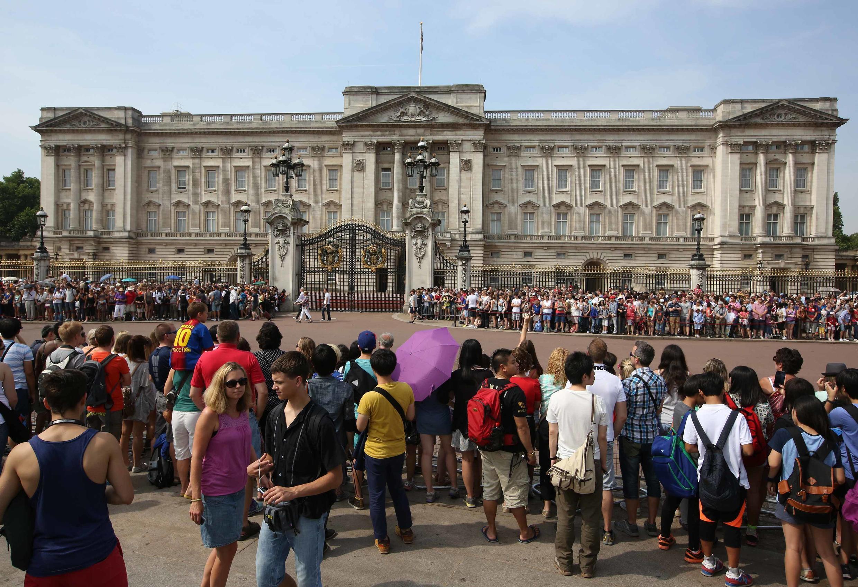 Palais de Buckingham, Londres, le 22 juillet 2013.