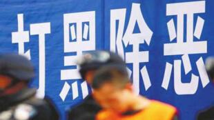 图为中国打黑运动图片