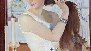 Зинаида Серебрякова «За туалетом. Автопортрет» (1909)