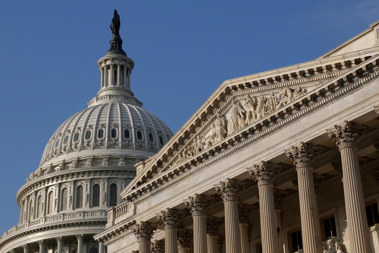 Trụ sở Quốc Hội Mỹ tại Washington DC (Hoa Kỳ). Ảnh chụp ngày 04/10/2013.