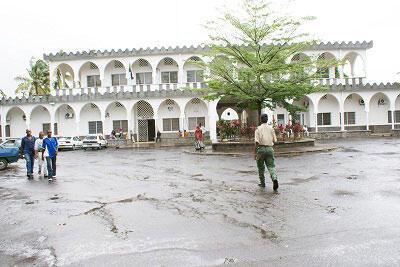 L'hôpital El Marouf à Moroni aux Comores.