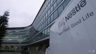 A building belonging to Swiss food company Nestlé