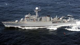 Hải quân Hàn Quốc trong cuộc tập trận trên biển Hoàng Hải tháng 08/2010