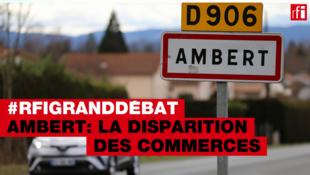 Sous-préfecture du Puy-de-Dôme, Ambert voit ses commerces mourir et son centre-ville avec.