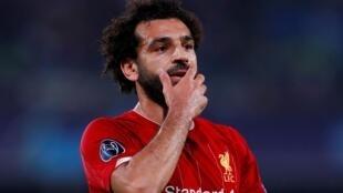 Dan wasan kasar Masar Mohamed Salah.