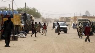 Une rue de Kidal (image d'illustration).