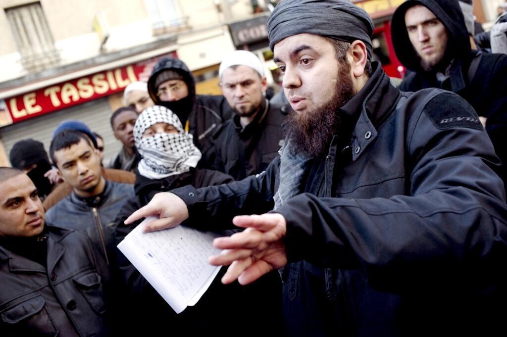 Forsane Alizza Mohamed Achamlane in Paris in 2012