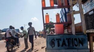 Des bidons d'essence d'un revendeur en RDC (image d'illustration).