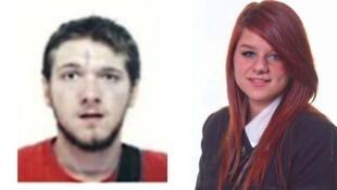 Jeremy Forrest, 30 anos, e Megan Stammers, 15 anos, foram encontrados em Bordeaux.