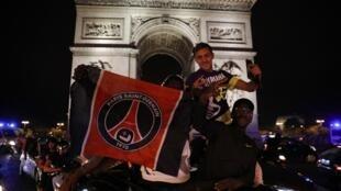 Magoya bayan kungiyar Paris Saint Germain a Paris