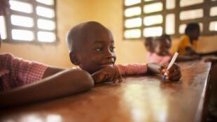 Un écolier haïtien (image d'illustration).