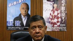Báo cáo viên đặc biệt Liên Hiệp Quốc về nhân quyền Bắc Triều Tiên, Marzuki Darusman,  tại Tokyo ngày 18.01/2016.