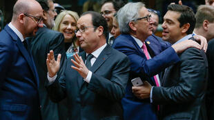 French President François Hollande attends a EU summit at the European Council headquarters in Brussels, on 15 December, 2016.