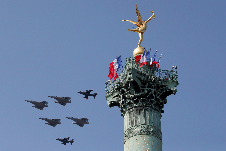 Французская военная авиация, самолеты Mirage 2000