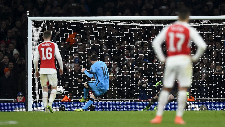 Lionel Messi ya ci kwallaye biyu a ragar Arsenal