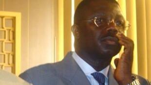 Le général congolais Norbert Dabira, en 2005, lors du procès sur l'affaire des «disparus du Beach» à Brazzaville, lors duquel il avait été acquitté.
