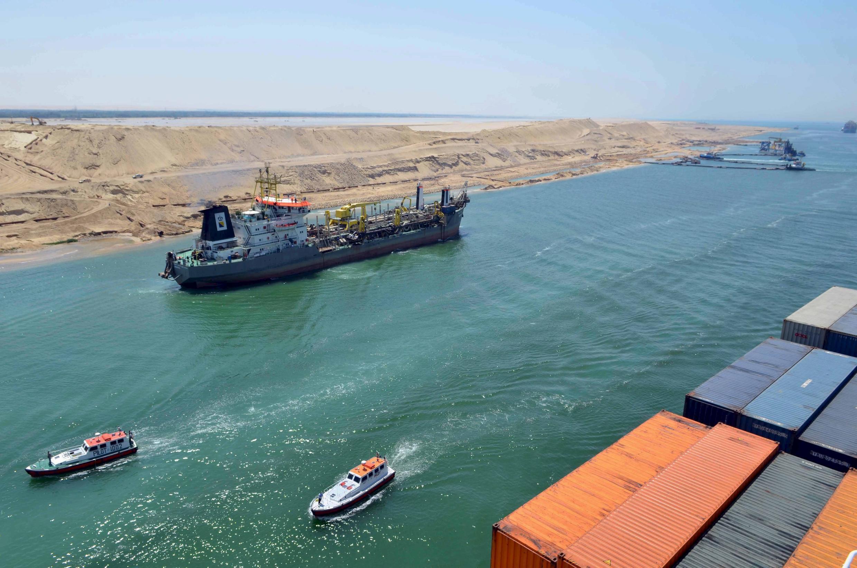 Mashigin ruwa na Suez