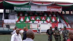 'Yan sanda sun rufe fillin taron PDP a Port Harcourt